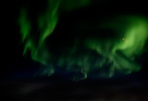 Christian Block Photography | Aurora Borealis - Sahara Wind | Return over Northern Atlantic Ocean, from Fairbanks in Alaska to Luxembourg, 2006