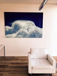 Christian Block Fotografie   Blaue Wellen in der Beta Klinik Bonn