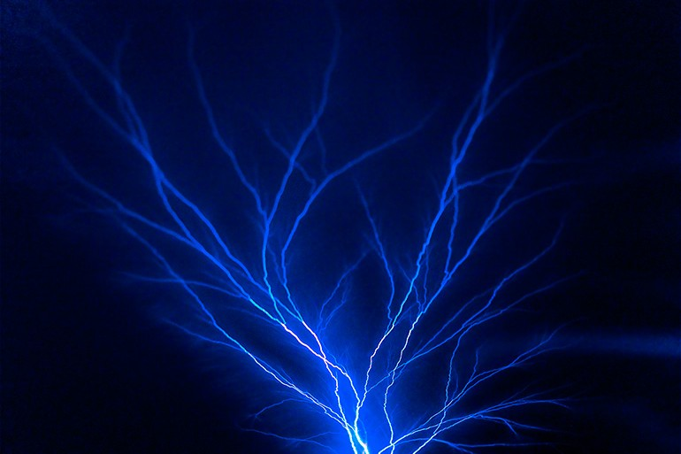 Blauer Blitz | © Christian Block